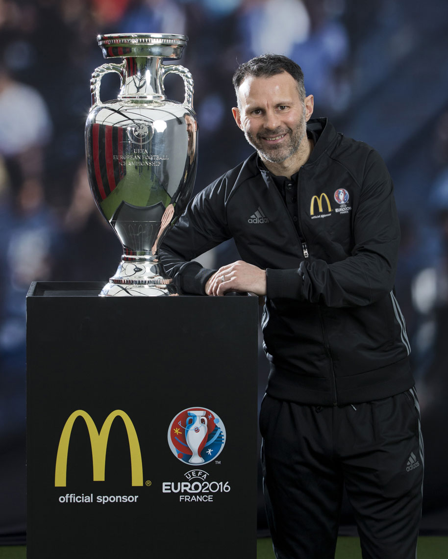 Ryan Giggs McDonalds © Mark Robinson Photography