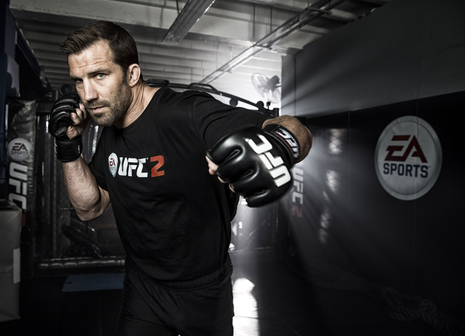 Luke Rockhold UFC 2 EA Sports  © Mark Robinson Photography