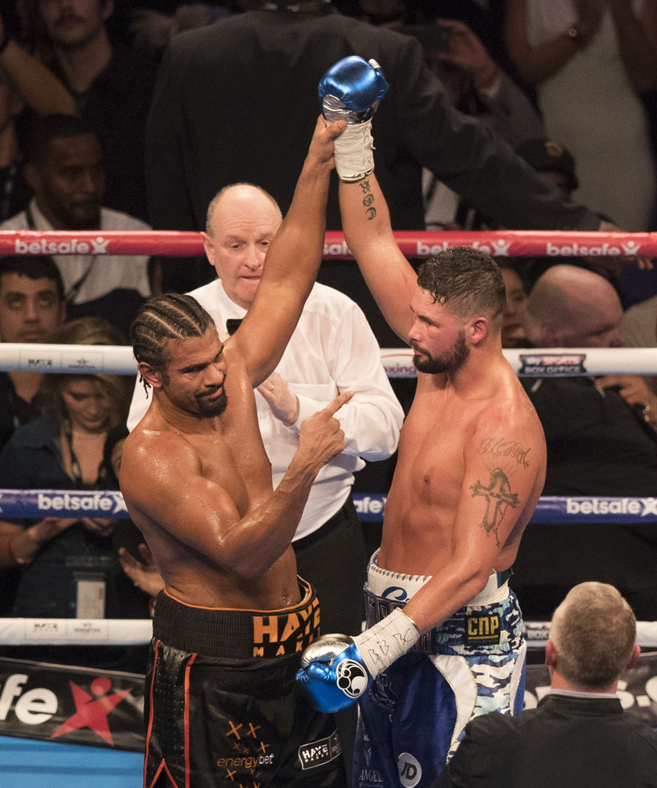 David Haye Tony Bellew Matchroom Mark Robinson Photography