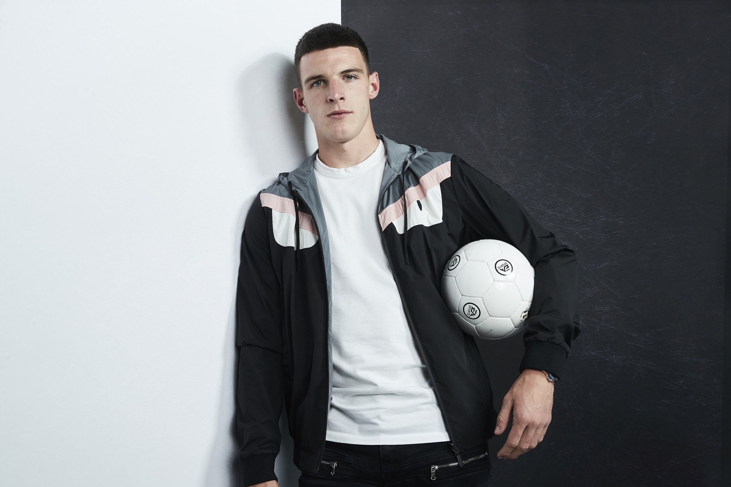 Declan Rice West Ham Global Launch Photoshoot Portriat © Mark Robinson Photographer EA Sports Fifa20