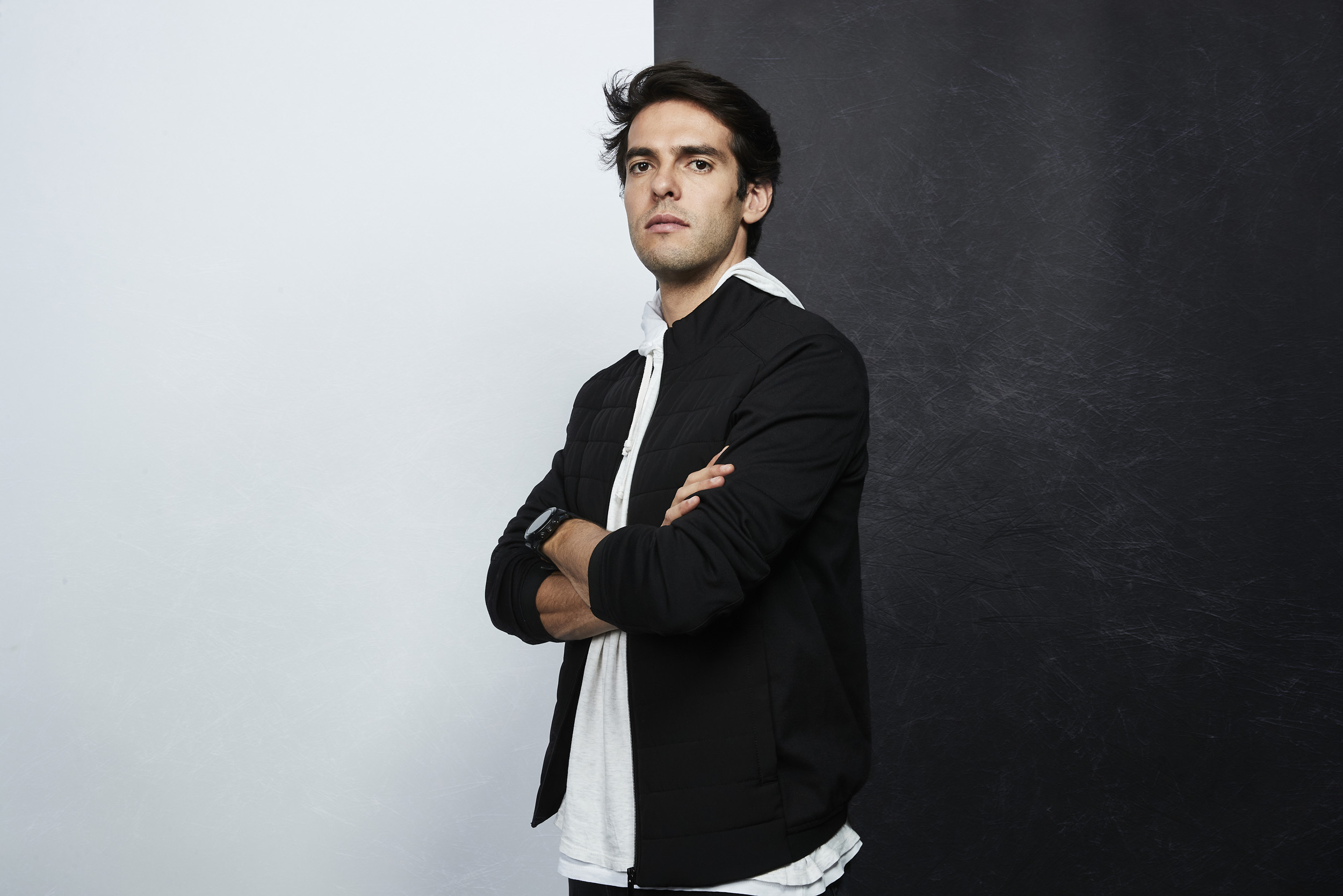 Kaka Global Icon Launch Photoshoot Portriat © Mark Robinson Photographer EA Sports Fifa20
