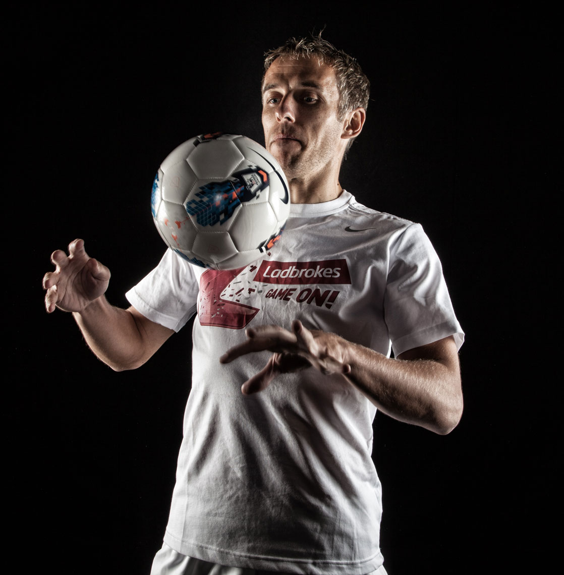 Phil Neville © Mark Robinson Photography