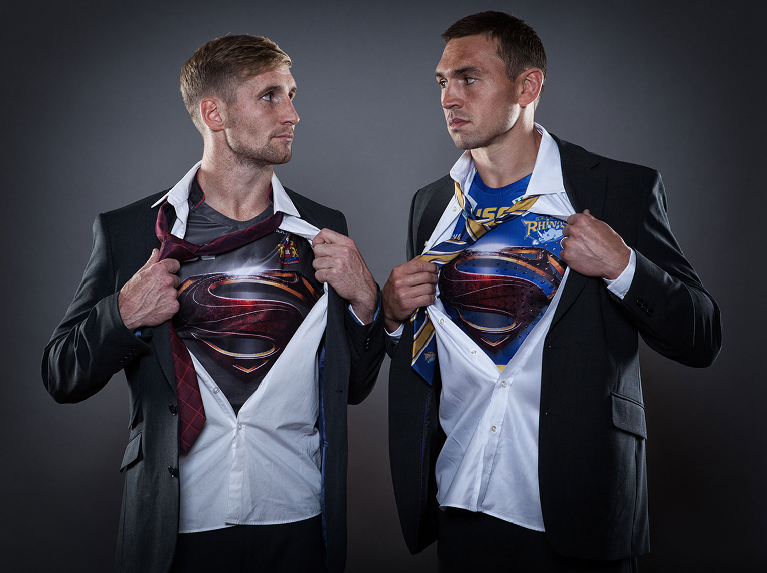 Sam Tomkins Kevin Sinfield Warner Brothers © Mark Robinson Photography