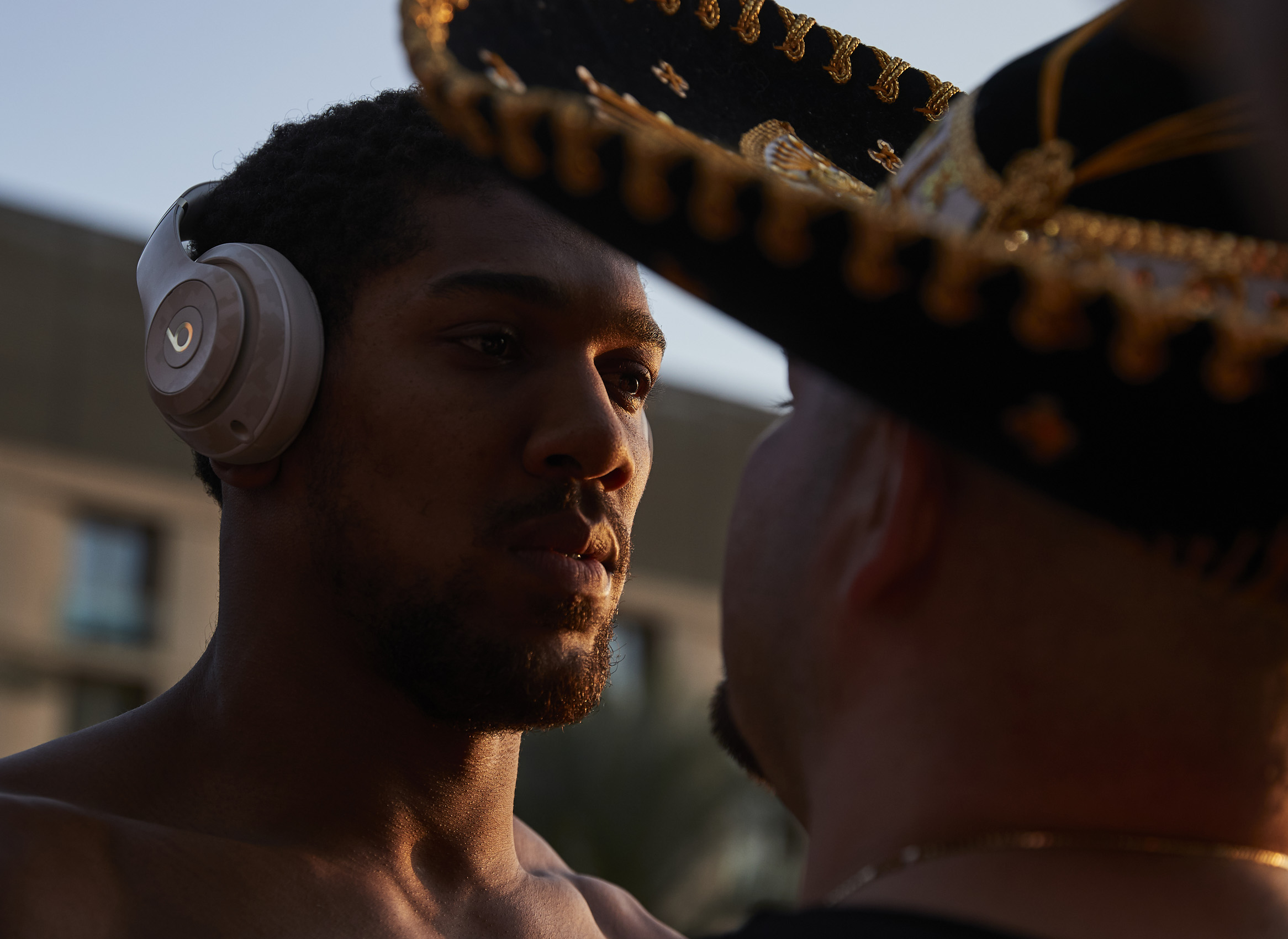 Anthony Joshua Andy Ruiz Jr Weigh In Stare Into Eyes Saudi Arabia Rematch © Mark Robinson Photographer Matchrrom Boxing