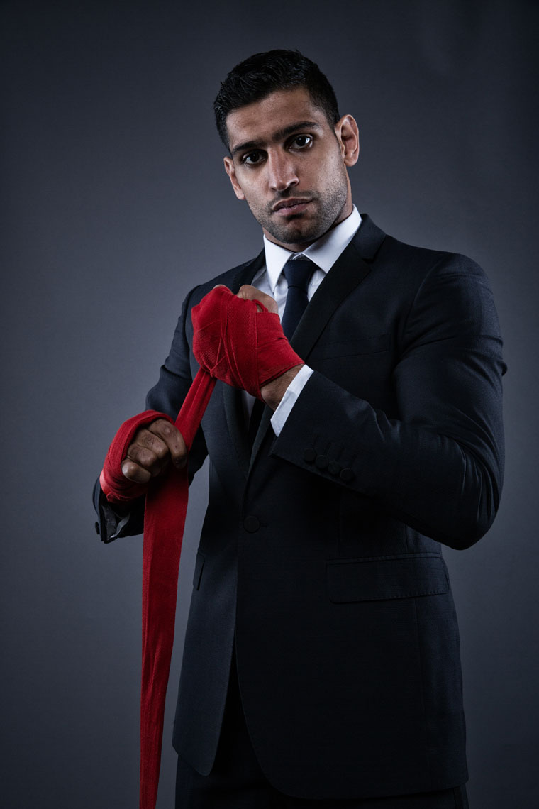 Amir Khan Boxer Mark Robinson Photography