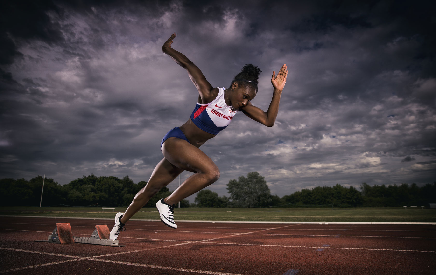 Dina Asher Smith © Mark Robinson Photography