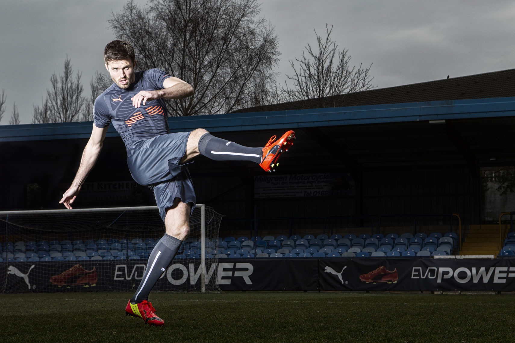 Michael Carrick Puma © Mark Robinson Photography
